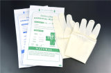 Устранимым медицинским стерильным приведенные в действие латексом перчатки рассмотрения