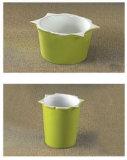 Керамические Bakeware с силиконовые ручки (UN8-005)