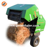 工場販売のための直接コンパクトな小型円形の干し草の梱包機