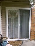 Alluminio solare di controllo che fa scorrere i portelli del patio con i ciechi permutabili