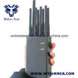 8 هوائي جهاز تشويش يدويّة كلّ هاتف جهاز تشويش [غسم] [3غ] [4غلت] [4غويمإكس] و [غبسل1/ل2] [لوجك] جهاز تشويش