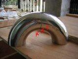 Le coude de l'acier inoxydable 304 a poli