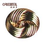 Tasto della plastica dell'onda di doratura elettrolitica dei fori di modo 2