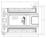 PLC poco costoso cinese T-921 di basso costo con un input di 19 Digitahi e un'uscita di 16 Digitahi