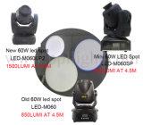 Aktualisierungsvorgangs-Version des Mini60w LED beweglichen Hauptpunkt-Lichtes