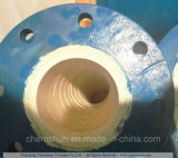 Resistencia para desgastar a surtidores de cerámica De cerámica-Alineados del aislante de tubo del tubo del codo