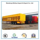 화물 수송을%s 3개의 차축을%s 가진 35t 담 화물 트럭 말뚝 트럭 트레일러