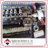 PE/PVC doppel-wandiger gewölbter Rohr-Strangpresßling, der Maschine-Suke herstellt