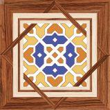 Azulejos de suelo de cerámica rústicos de la inyección de tinta de Matt del material de construcción