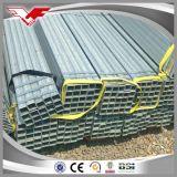Tubo d'acciaio quadrato di ERW, tubo quadrato di Gi