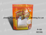 Stand up di plastica Pet Food Bag Packaging