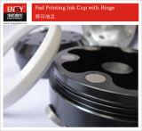 Tampoprintのための熱い販売のパッドの印刷インキのコップの白い陶磁器のリング