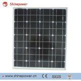 Mono панель солнечных батарей 50W для пользы солнечной системы