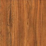 Papel de madera de la melamina del grano de la teca para el suelo laminado, muebles, tarjeta del MDF