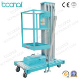 Aluminum mast Aerial Work Platform elevator (max of Height 10m)