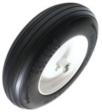 400-8PU泡の車輪