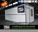 Wellcampの新式のプレハブの折る容器の家