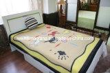 Печать Virgin шерсти одеяло (NMQ-WB003)