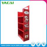 Papel reciclado Expositor Stand el stand de exposiciones de rack