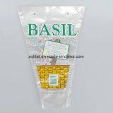 Matériau LDPE Forme trapézoïdale Forme de légumes / sac de wicket de fleurs