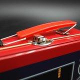 Custom Handle Lunch Tin Box / Metal Can com impressão de padrões de jogos (C011-V1)