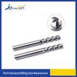 Cortador de trituração das flautas do carboneto de tungstênio 3 para a liga de Alumium