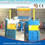 Máquina hidráulica de la prensa de la hierba/prensa cuadrada vertical del heno/máquina de embalaje de la tela