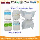 Fralda descartável do tecido do bebê do tecido macio do bebê em China