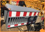 Временно загородка барьера безопасности движения дороги пластичная для строительства дорог
