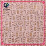 Merletto francese di nylon del cotone che assetta i tessuti africani del merletto