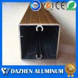 Bestes Qualitätsquadrat-rechteckiges Gefäß-Rohr-Aluminiumprofil mit Farben-Beschichtung
