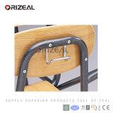 Mesa combinado e cadeira da escola do MDF do plástico da madeira de metal da mobília de escola