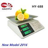 Escala computacional del precio electrónico del modelo nuevo 2016