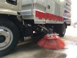 Dongfeng 4X2 Venta caliente Street Sweeper barrer la carretera de 100 CV Carretilla