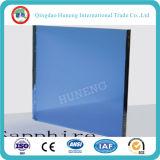 Vidrio de flotador coloreado azul marino teñido de cristal con la ISO del Ce