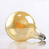 2W 4W 6W 8W Amber Cover LED Filament Bulb Lamp