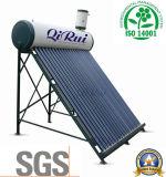 Coletor de tubo de vácuo de aquecedor solar de água de baixa pressão com marcação CE