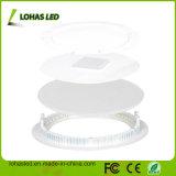 LED CMS haute puissance de feu de panneau rond avec ce RoHS