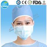 medizinische nichtgewebte Breathable 3-Ply Gesichtsmaske