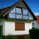 Manuelles Isolierrollen-Blendenverschluss-Latte-Aluminiumfenster