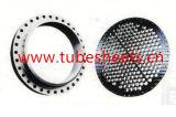 Folha de tubos forjados, defletor, flange de aço carbono / aço inoxidável / aço de liga