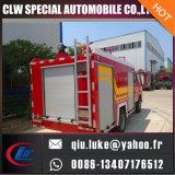 Camion de pompier en poudre sèche