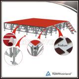 Étape mobile en aluminium d'Assemblée de vente chaude pour l'événement