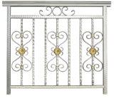 Valla de acero horizontal de metal de diseño de valla de acero