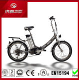 250W складной велосипед с электроприводом 20 дюйма Ebike Ce сертификации дешевые карман с возможностью горячей замены с электроприводом складывания велосипедов