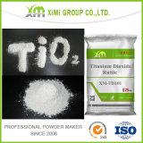 Pente de rutile de dioxyde de titane du colorant TiO2 de couleur de qualité