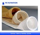Sacchetti filtro non tessuti della polvere di PPS del feltro dell'ago