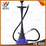Edelstahl-grosse Flaschen-Huka-Wasser-Rohr-Huka, die Shisha Holzkohle-blaue Rauch-Filterglocke raucht