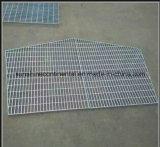 La passerella galvanizzata tuffata calda della fabbrica gratta la grata del pavimento