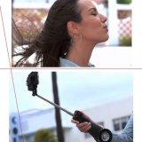 Ventilateur et bâton automatisé par Bluetooth intégré de DEL Selfie